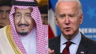 """""""العاهل السعودي وبايدن"""" يبحثان في أول اتصال هاتفي حرب اليمن والأمن الإقليمي"""