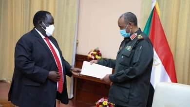 السودان : لقاء مرتقب بين (البرهان وسلفاكير)