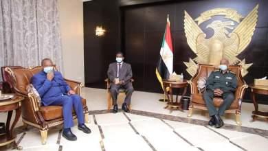 السودان: رئيس السيادي يستقبل مبعوث الرئيس الكنغولي حول سد النهضة