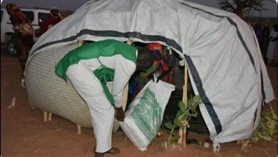 السودان : إغاثي الملك سلمان يوزع اطنان من المواد الغذائية في (نيالا وبليل)