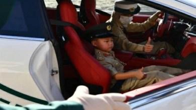 شرطة دبي تحقق أمنية طفل