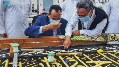 السودان: وزير الإعلام يزور مجمع الملك عبدالعزيز لكسوة الكعبة ومعرض عمارة الحرمين