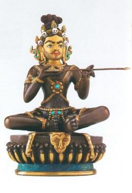 সরহ পা-র ব্রোঞ্জ নির্মিত প্রতিমূর্তি (আনুমানিক)