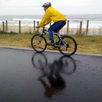 a bicicleta é um aquecedor com rodas