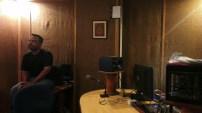 Sharaf Qaisar in off-air studio