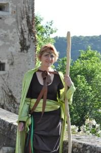 Animation de rue, Fête médiévale, Liverdun (54)