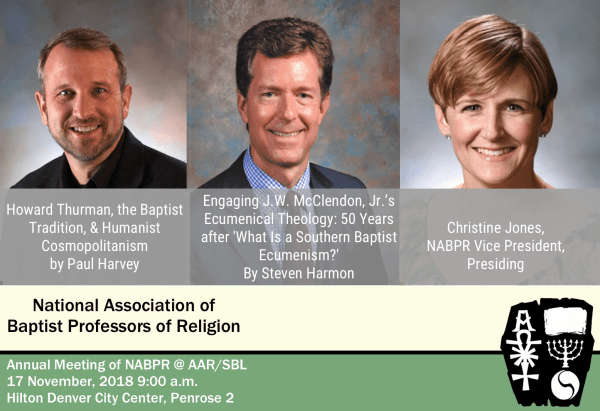 NABPR at the AAR/SBL 2018