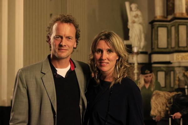 Präsident Boris van Vorst und Ehefrau Ingeborg