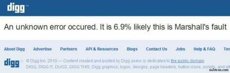 new digg 4 alpha-error