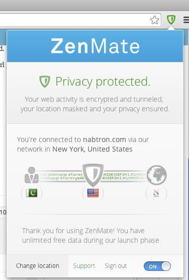 zenmate proxy chrome