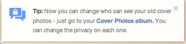 facebook cover privacy
