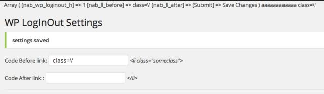 wordpress backslash html input
