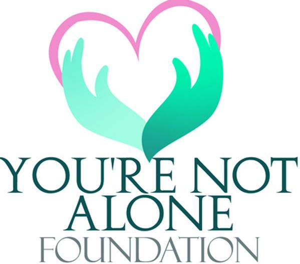 You're not Alone Foundation logo