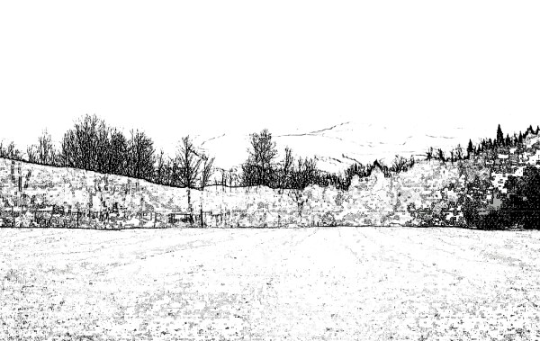 Digital, Landscape, Series, Horizon, Naccarato, Digital, Photo, Composition, HTC Desire, Android, mobile Phone, Eastern Townships, Sutton, Quebec, 2013, Plate 06,