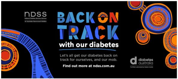Back on Track with our diabetes campaign banner