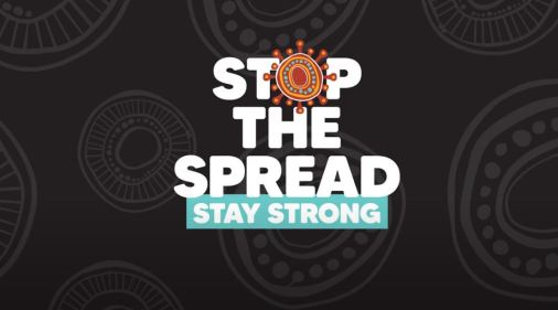 Stop the Spread Stay Strong image form SA government Department of Health& AHCSA YouTube video