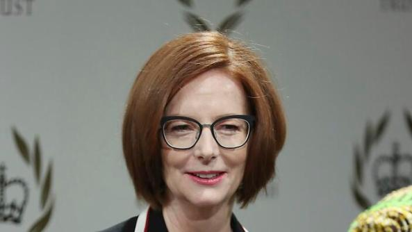 portrait photo of ex-PM Julia Gillard