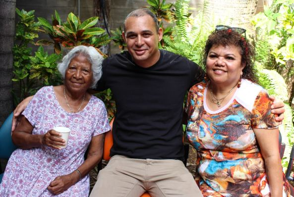 local Darwin Elder; Tina Murphy, community leader; Thomas Mayor and Danila Dilba Chair; Carol Stanislaus