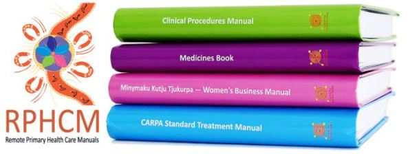 Remote PHC Manuals logo with spines of the 4 manuals green purple pink light blue