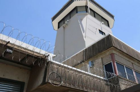 view of tower of Don Dale youth detention centre