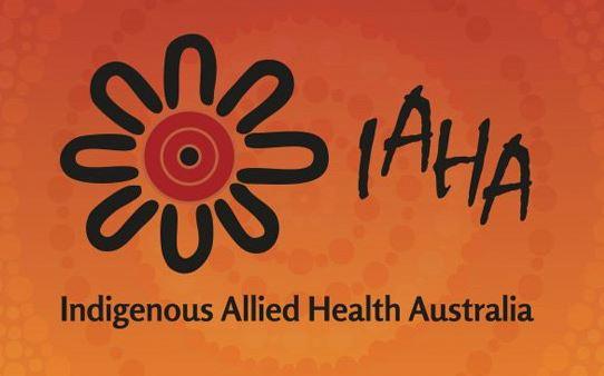 Indigenous Allied Health Australian IAHA logo