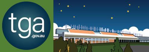 TGA.gov.au logo & vector image of TGA building