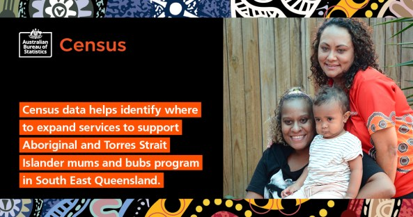 Census data supporting Aboriginal and Torres Strait Islander mums and bubs program to expand across South East Queensland.