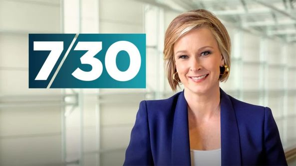 Leigh Sales ABC 7.30