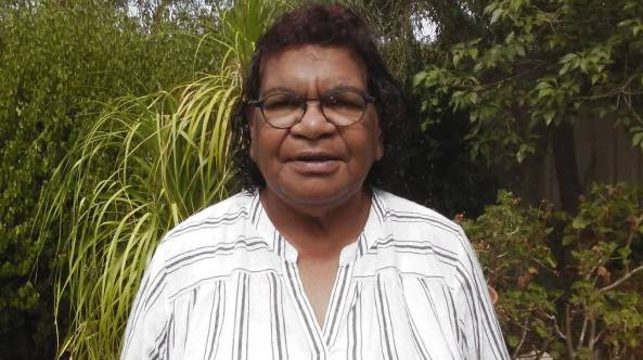 Be safe: Adnyamathanha Elder Cheryl Coulthard-Waye wants her community to know that their risk to COVID is not over. Image source: The Transcontinental Port Augusta.