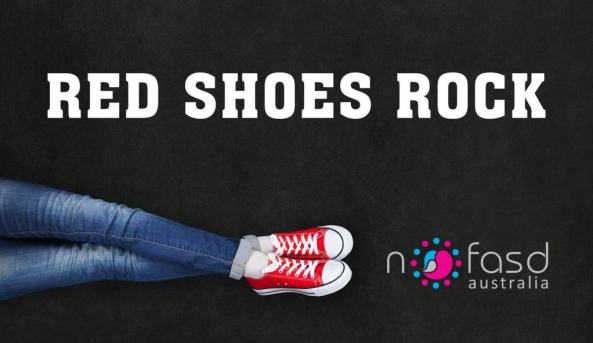 Red Shoes Rock-banner, FASD.
