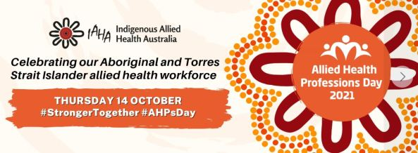 banner - Indigenous Allied Health Professionals Day