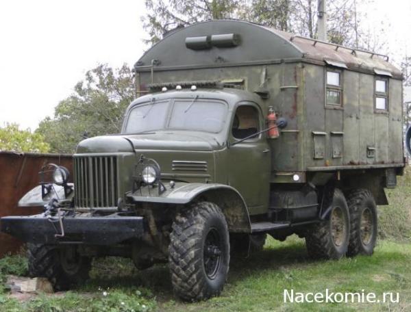 Автолегенды СССР Грузовики №41 - ЗиЛ-157 Кунг - 1М • Форум ...