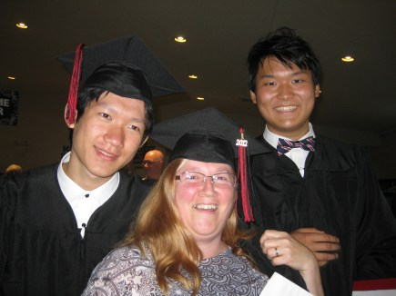 Mrs G deserves to graduate too!