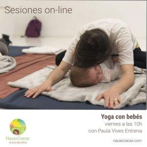 Sesioines on-line Yoga para el Puerperio