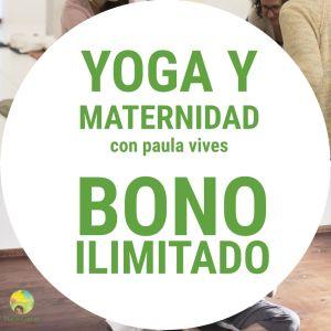 Yoga y maternidad bono ilimitado