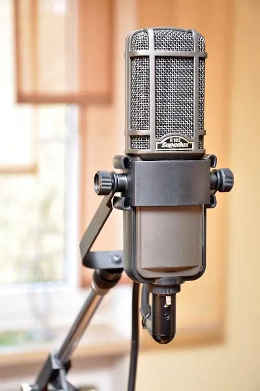 Superlux R102 Bändchenmikrofon