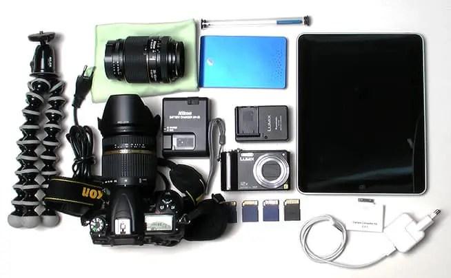 Meine Fotoausrüstung für den Urlaub 2011
