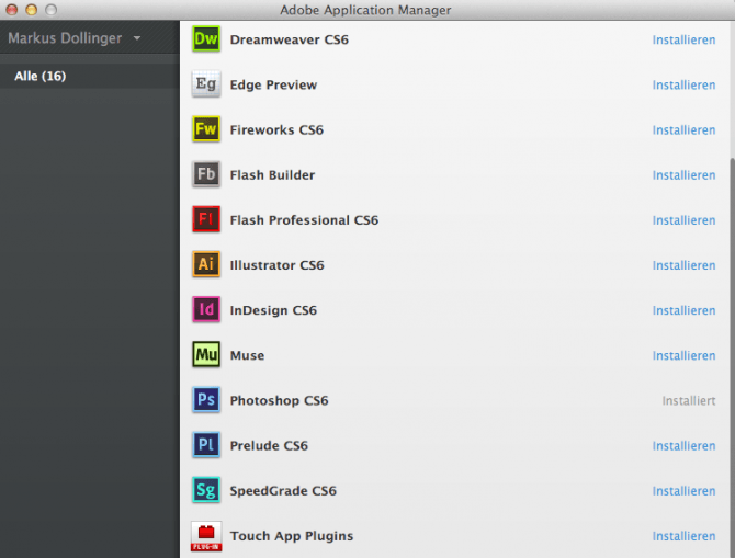 Adobe Creative Cloud Client