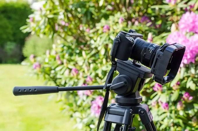 Mein Sony NEX-6 Setup mit Nikon 50mm 1.8 und ND-Filter mit Sonnenblende