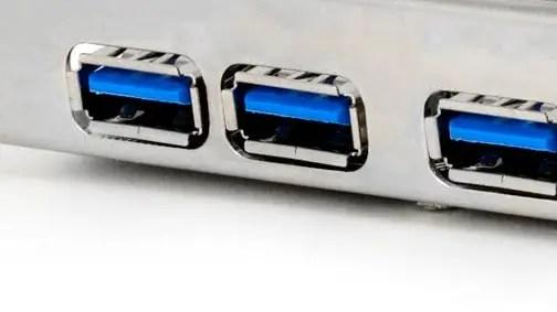USB 3.0 Anschlüsse