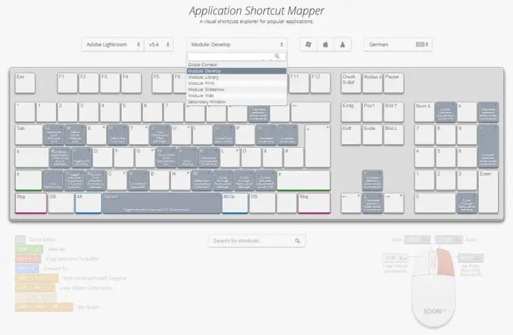Shortcut Mapper