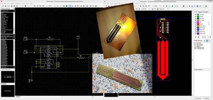 Der Bodenfeuchte-Sensor: Entwicklung der Schaltung und Platine bis zum fertigen Produkt