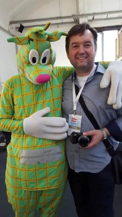 Alte Freunde aus dem YPS-Heft auf der Maker Faire