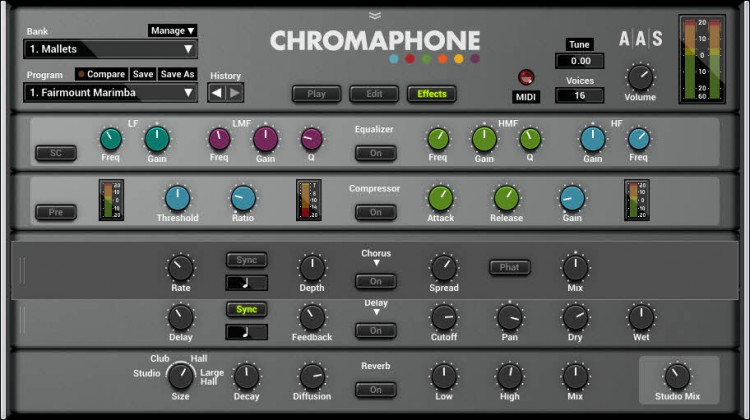 AAS Chromaphone Effekt-Module