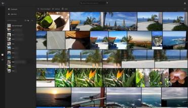 Bilderanzeige in Lightroom Online
