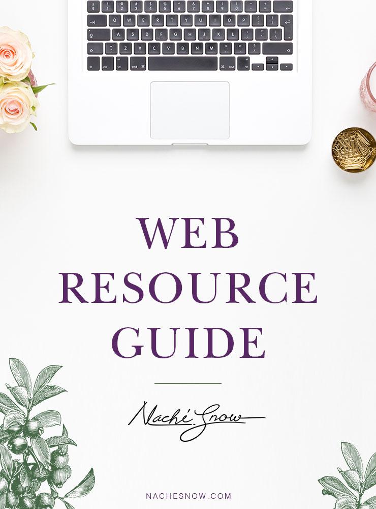 Web Resource Guide on NacheSnow.com