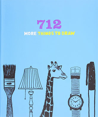 712 More Things to Draw by Chronicle Books