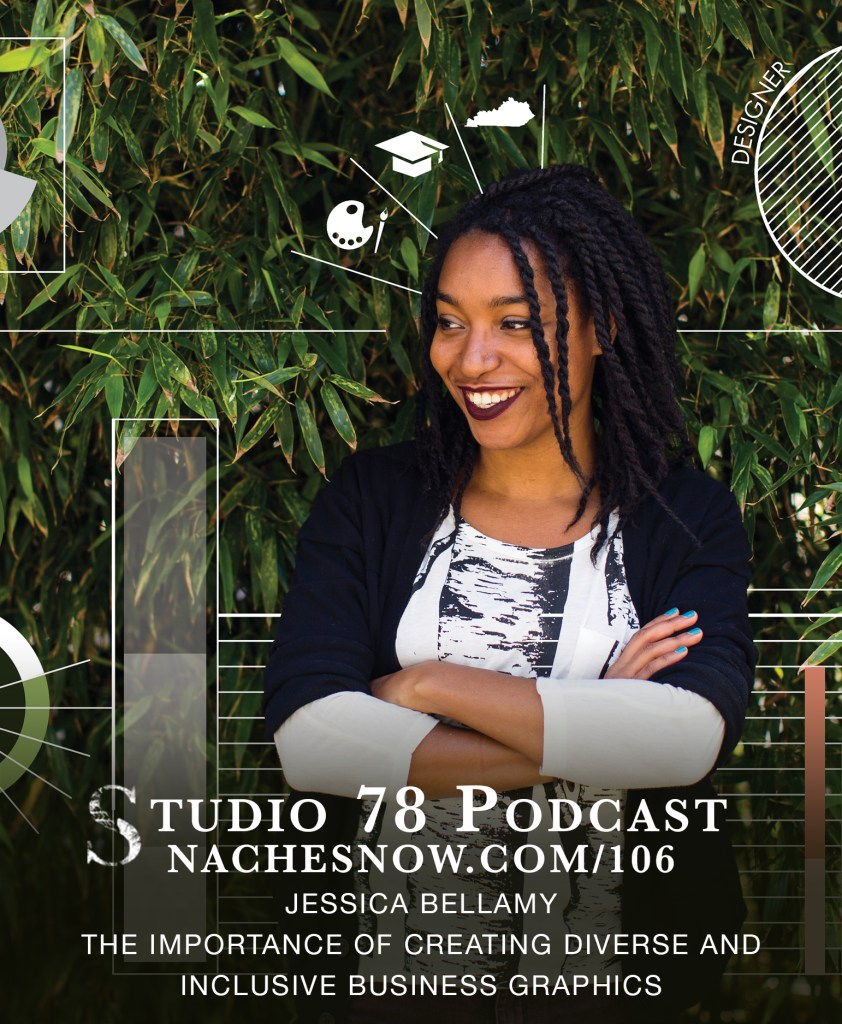 106. The Importance of Creating Diverse and Inclusive Business Graphics    | Studio 78 Podcast nachesnow.com/106