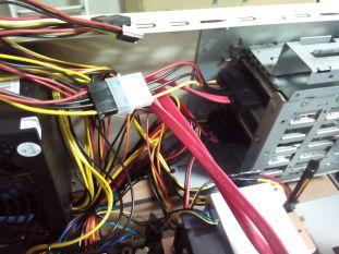 Conectando los discos duros