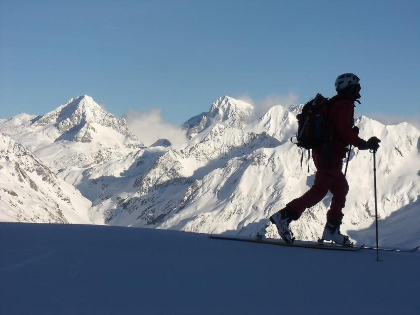 Skibergsteigen: eine nachhaltige Alternative nachhaltiger Sport